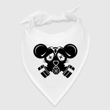 A gas mask with big mouse ears - Bandana