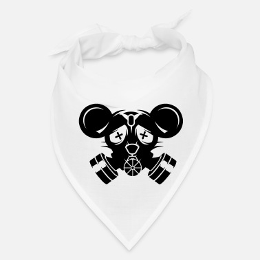 Mouse A gas mask with big mouse ears - Bandana