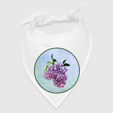 Delicate Pink Lilacs With Background - Bandana