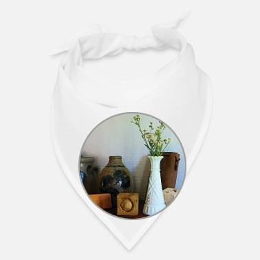 Wild Vase With Wild Flowers - Bandana