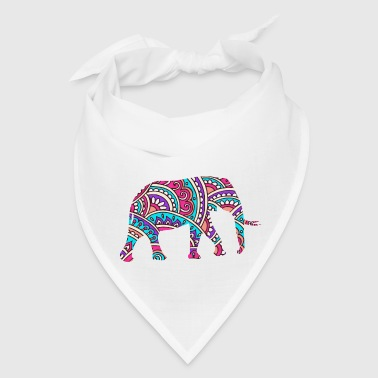 Colorful elephant - Bandana