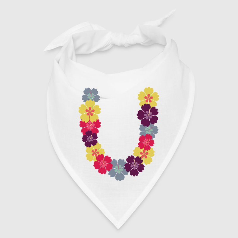Hawaiian flower chain - Bandana
