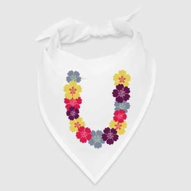 Hawaiian Hawaiian flower chain - Bandana
