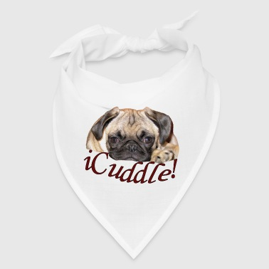 iCuddle Pug Puppy - Bandana