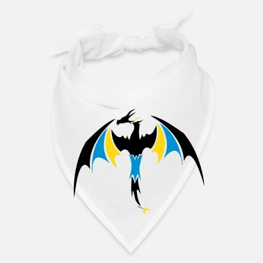Fantasy tribal dragon - Bandana