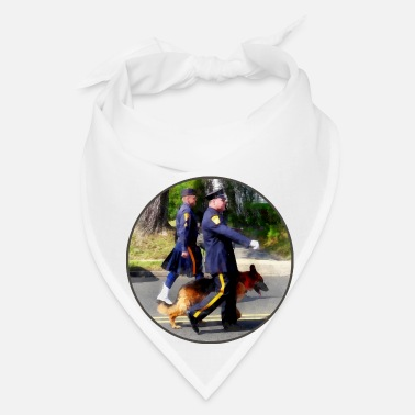 Police Policeman and Police Dog - Bandana