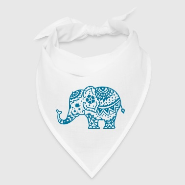 a decorated Indian elephant - Bandana