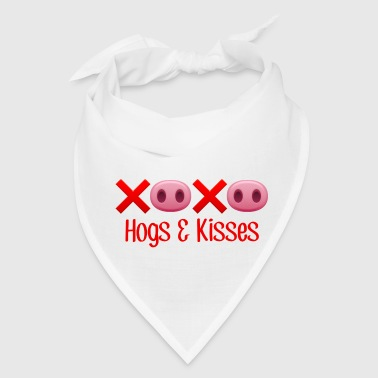 Hamlett The Piggy Hogs and Kisses - Bandana