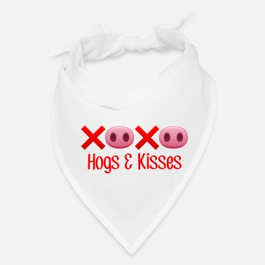 Hog Hamlett The Piggy Hogs and Kisses - Bandana