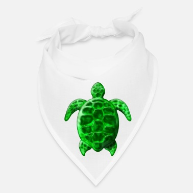 Sea Green Honu Turtle - Bandana