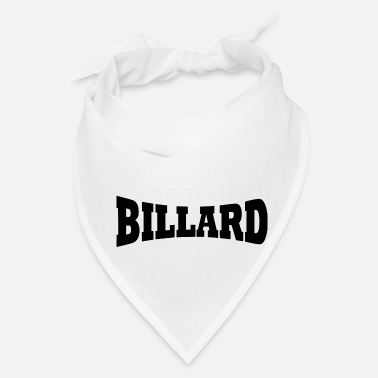 Word billard word - Bandana
