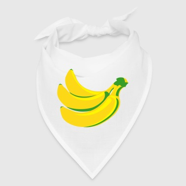 Yellow bananas - Bandana