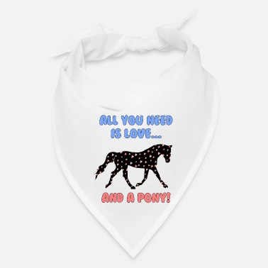 Pony Love and a Pony - Bandana
