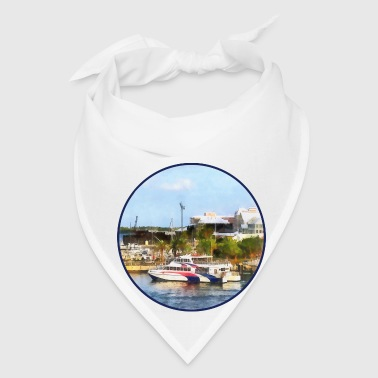 Caribbean - Dock at King's Wharf Bermuda - Bandana