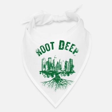 Skate Root deep urban green - Bandana