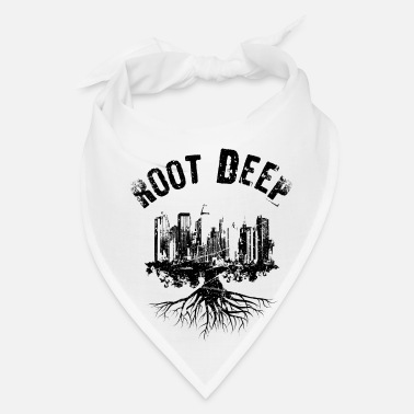 Root deep urban black - Bandana