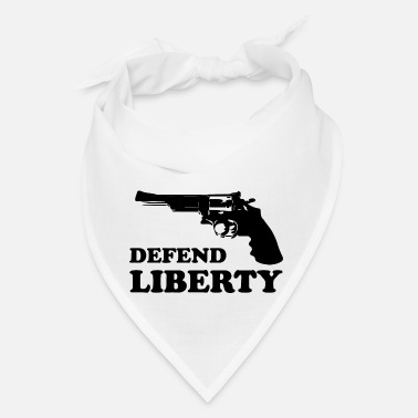 Revolver Defend liberty - Bandana