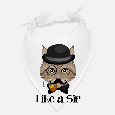 Sir Like A Sir Cat / Katze - Bandana