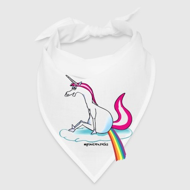 Unicorn pooping rainbow - Bandana