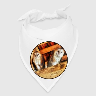 Two Barn Owls - Bandana