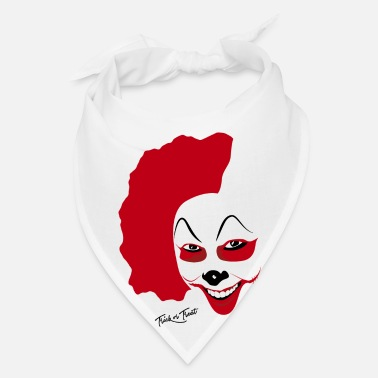 Mask Halloween Clown Mask - Bandana