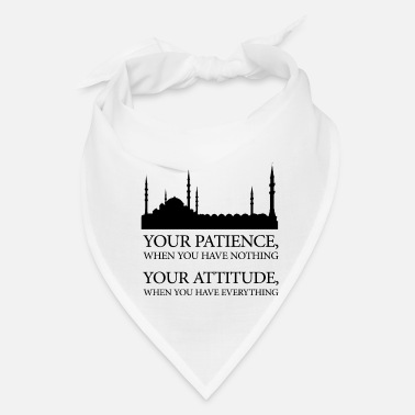 Muslim Mosque Awesome mosque quote! Perfect gift for any muslim - Bandana