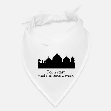 Muslim Mosque Mosque quote! Perfect gift for any muslim - Bandana