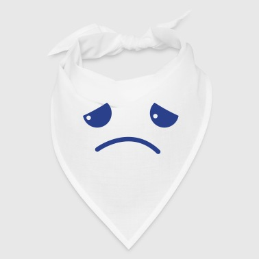 sad face chibi kawaii - Bandana