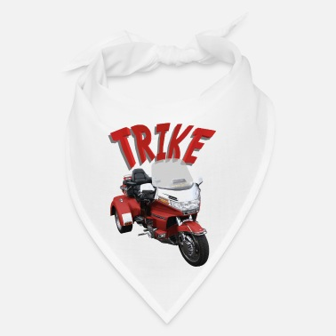 Saddle Trike Red - Bandana