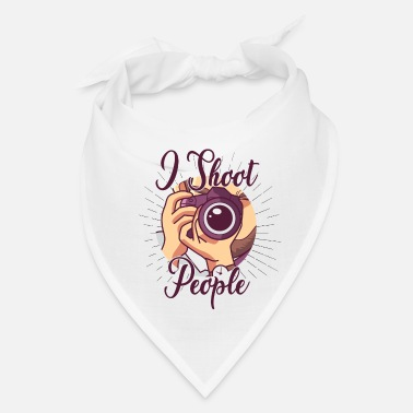 Shooting Club I Shoot People - Bandana