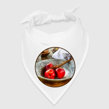 Apples in a Silver Bowl - Bandana