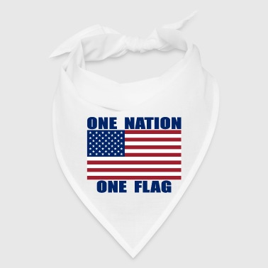 ONE NATION ONE FLAG US FLAG - Bandana