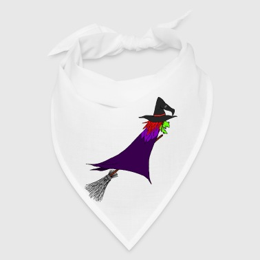 Witch flies on the broom - Bandana