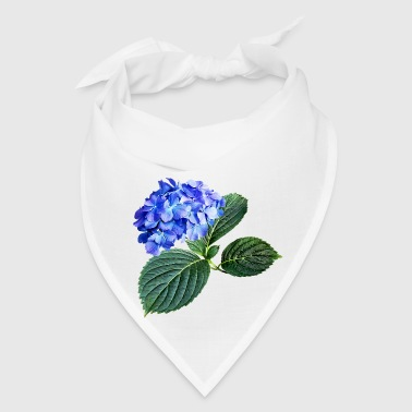 Dark Blue Hydrangea with - Bandana