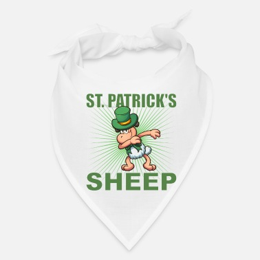 Spd St. Patricks Sheep Dabbing - Bandana