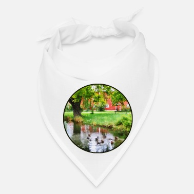 Duck Ducks On Pond - Bandana