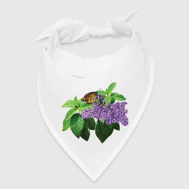 Monarch Butterfly on Heliotrope - Bandana