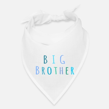 Pregnancy Big Brother in blue - Bandana
