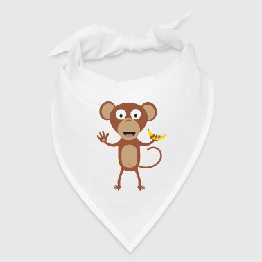 monkey with banana - Bandana