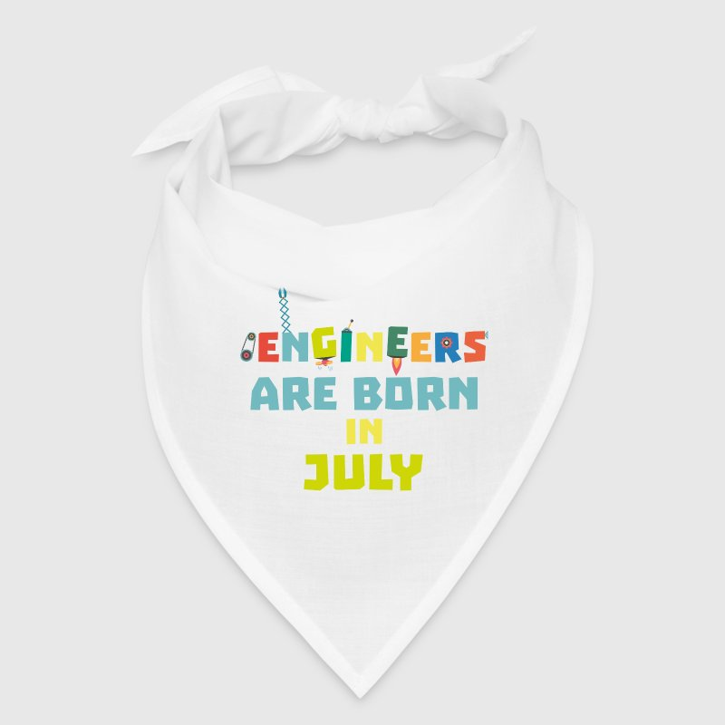 Engineers are born in July Sw3c8 - Bandana