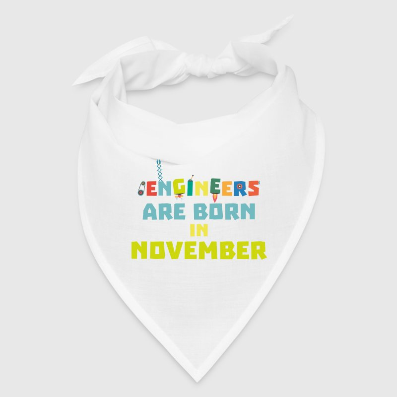 Engineers are born in November Sa7ra - Bandana