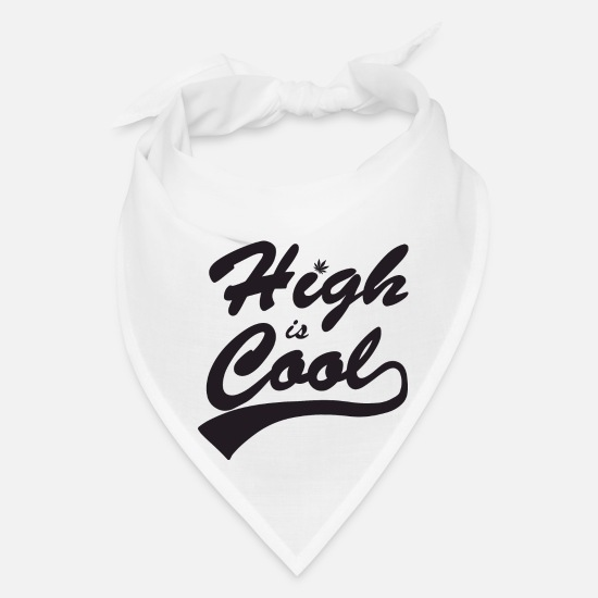 Joint Caps - high is cool - Bandana white