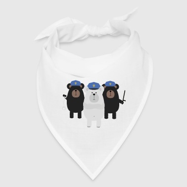 Grizzly Police Officer Squad - Bandana