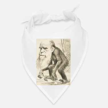 Darwin CHARLES DARWIN:  The Monkey's Uncle! - Bandana