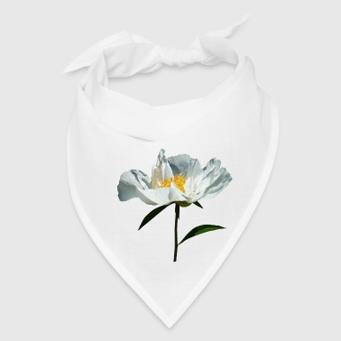 White Poppy Profile - Bandana