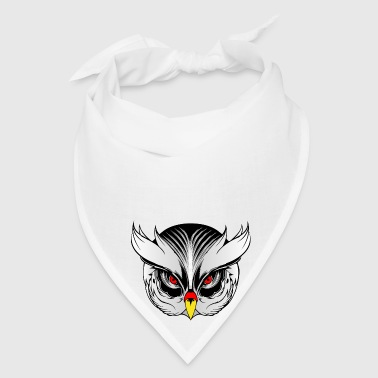 Owl head - Bandana