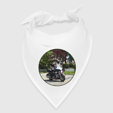 Motorcycle Police Officer - Bandana