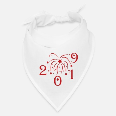 Number happy new year 2019 an9 - Bandana