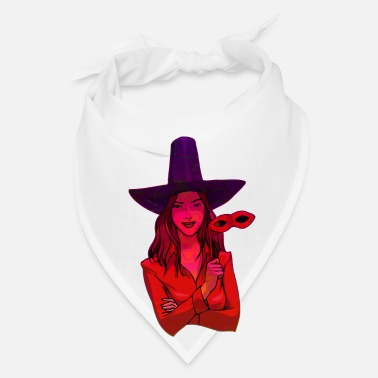 Witch Abstract Witch Design - Bandana