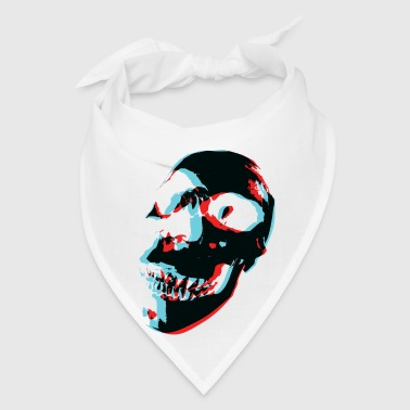 3D Color Skull - Bandana